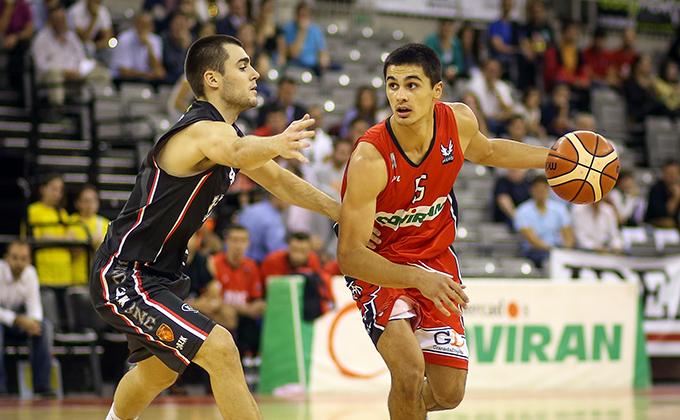 20161029.- Fundación CB Granada - Basket Navarra. Foto: Fermín Rodríguez