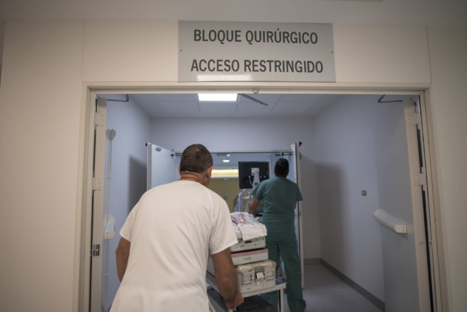 Nuevo Bloque Quirurgico virgen nieves hospital