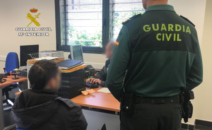detenido-guardiacivil