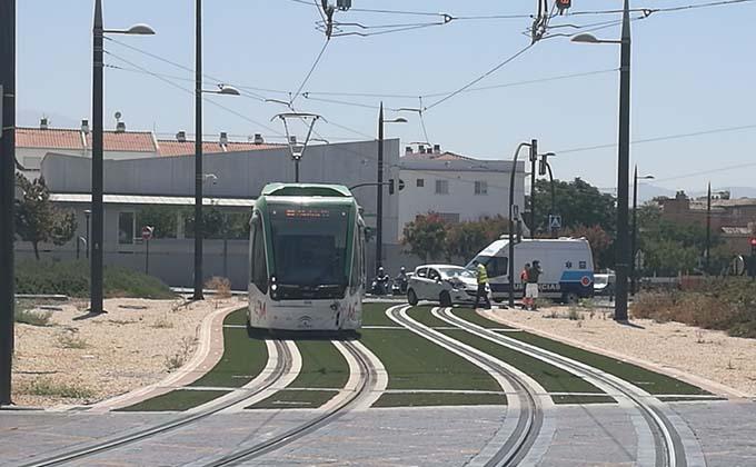 Accidente Metro Granada