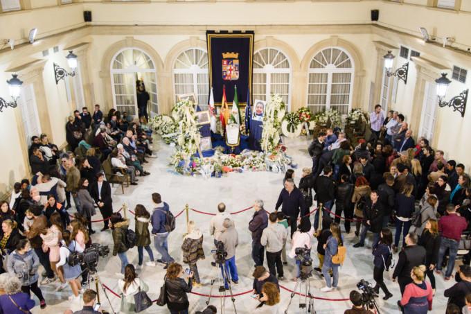 capilla ardiente Gabriel diputación Alemería