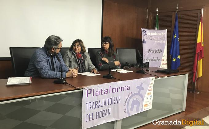Asamblea trabajadoras del hogar de Granada