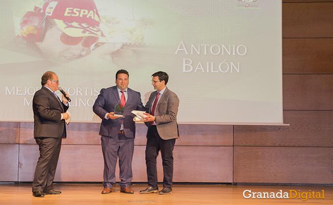antonio bailon - gala deporte - caja rural - premio