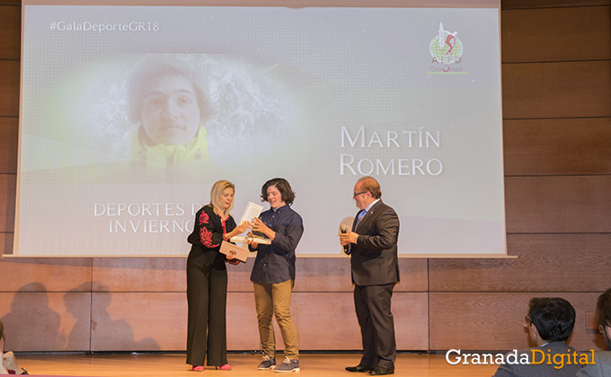 martin romero - gala deporte - caja rural - premio