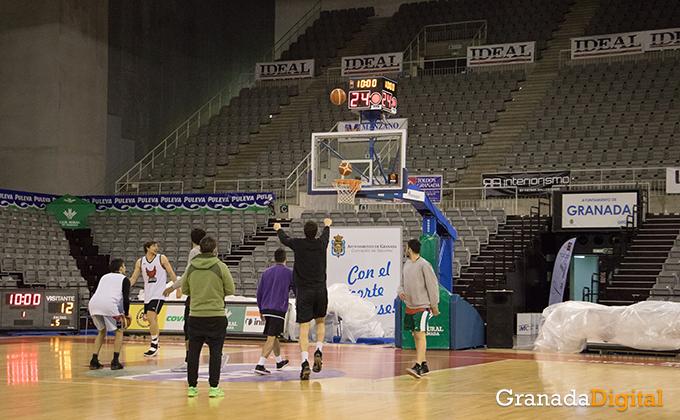 Entrenamiento Granada Baloncesto Coviran-16
