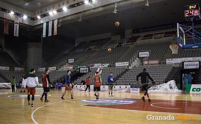 Entrenamiento Granada Baloncesto Coviran-20