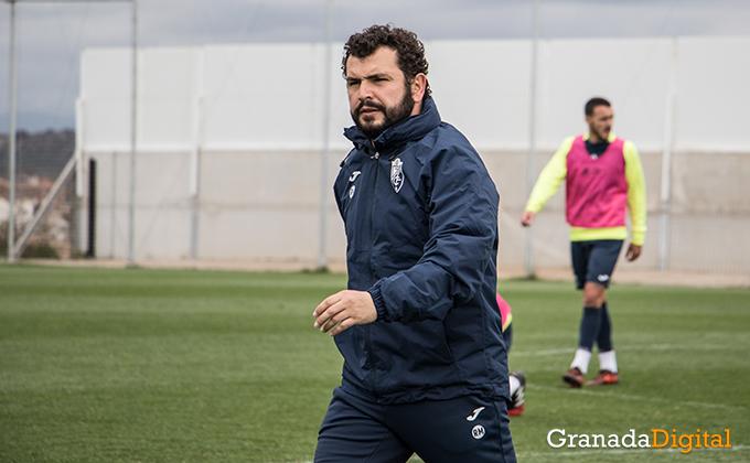 Entrenamiento Granada Club de Futbol B-40
