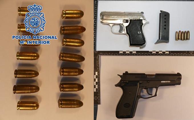 Pistolas-municion-policia