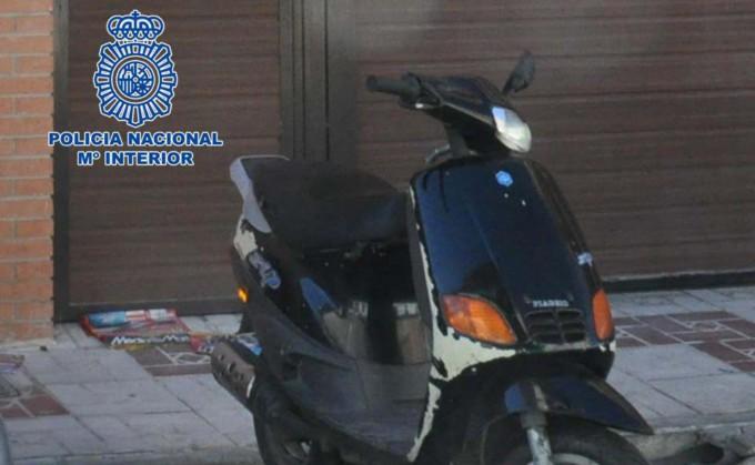 Fotografía ciclomotor