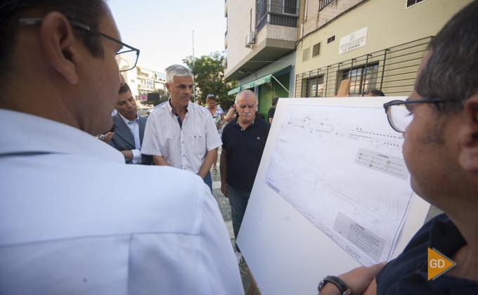 proyecto de remodelacion de la carretera de Malaga