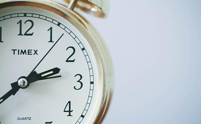 tiempo reloj cambio de hora