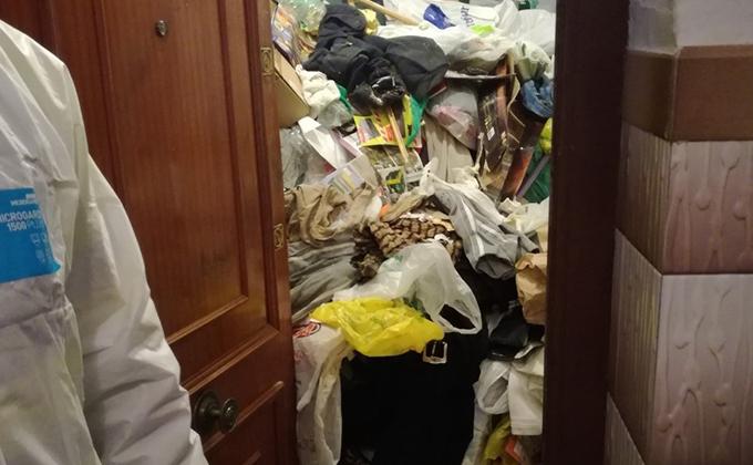 vivienda basura