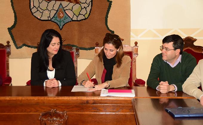 contrato para la construcción del sistema de tratamiento de aguas residuales de Montefrío