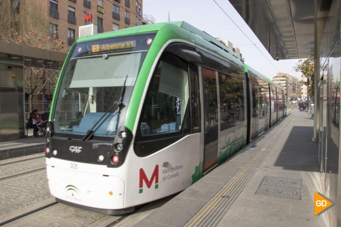 metro granada metropolitano transporte publico movilidad caleta parada