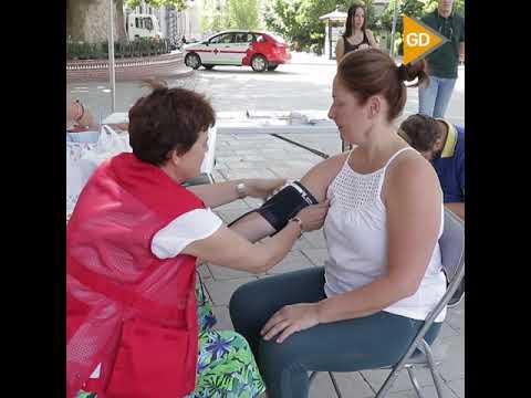 Cruz-Roja-celebra-en-Granada-una-campaña-de-prevención-por-la-ola-de-calor