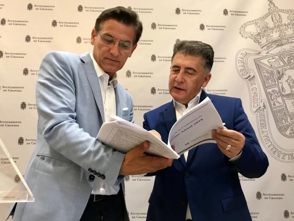 El alcalde de Granada y el Defensor de la Ciudadanía