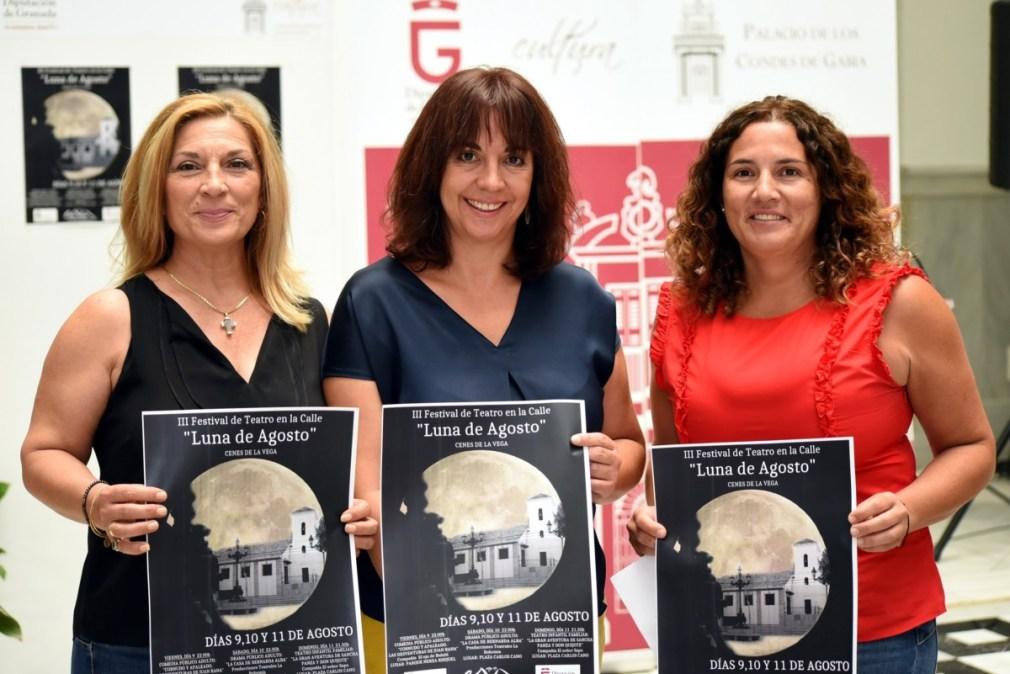 Presentación del festival 'Luna de agosto' de Cenes de la Vega