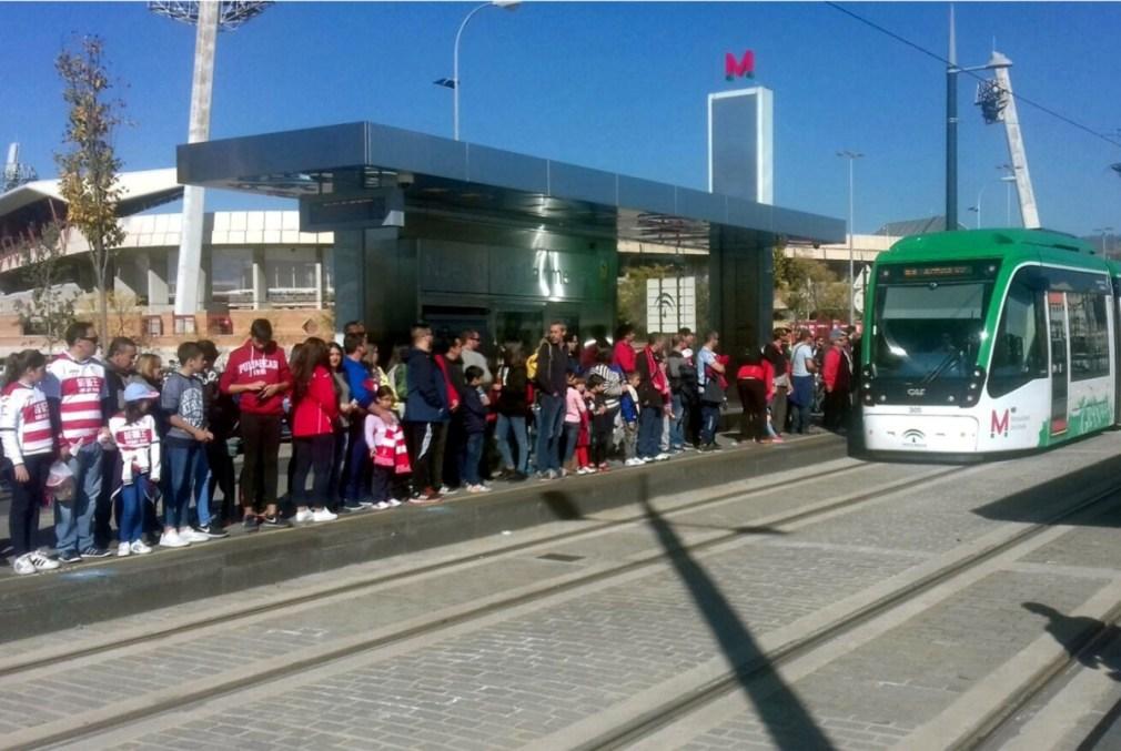 Metro Granada fútbol (1)