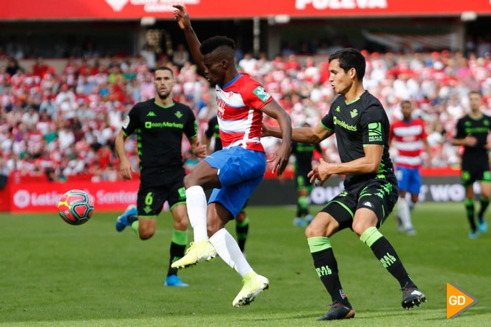 Spanish La Liga soccer mach Granada CF versus Real Betis