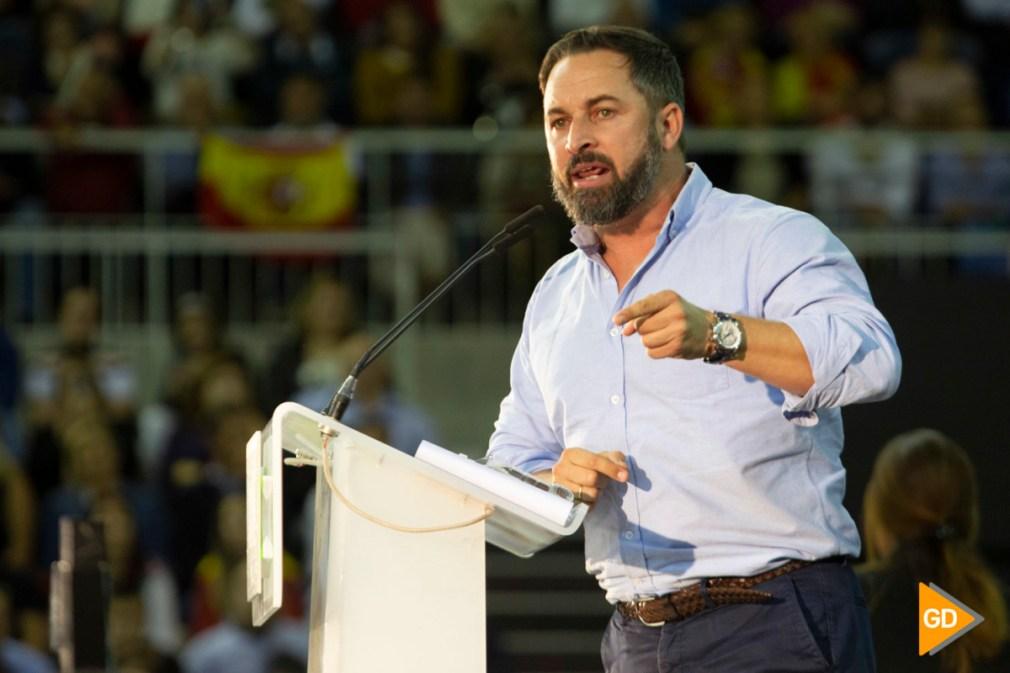 Mitin de Santiago Abascal en Granada