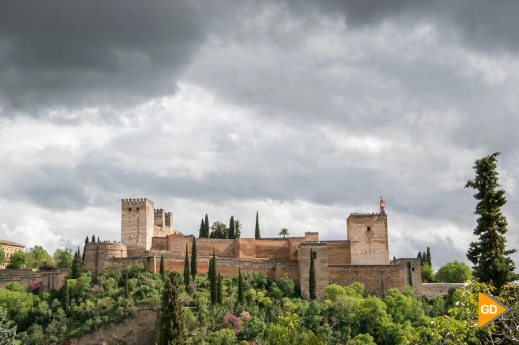 Alhambra niebla primavera tiempo nubes_-3