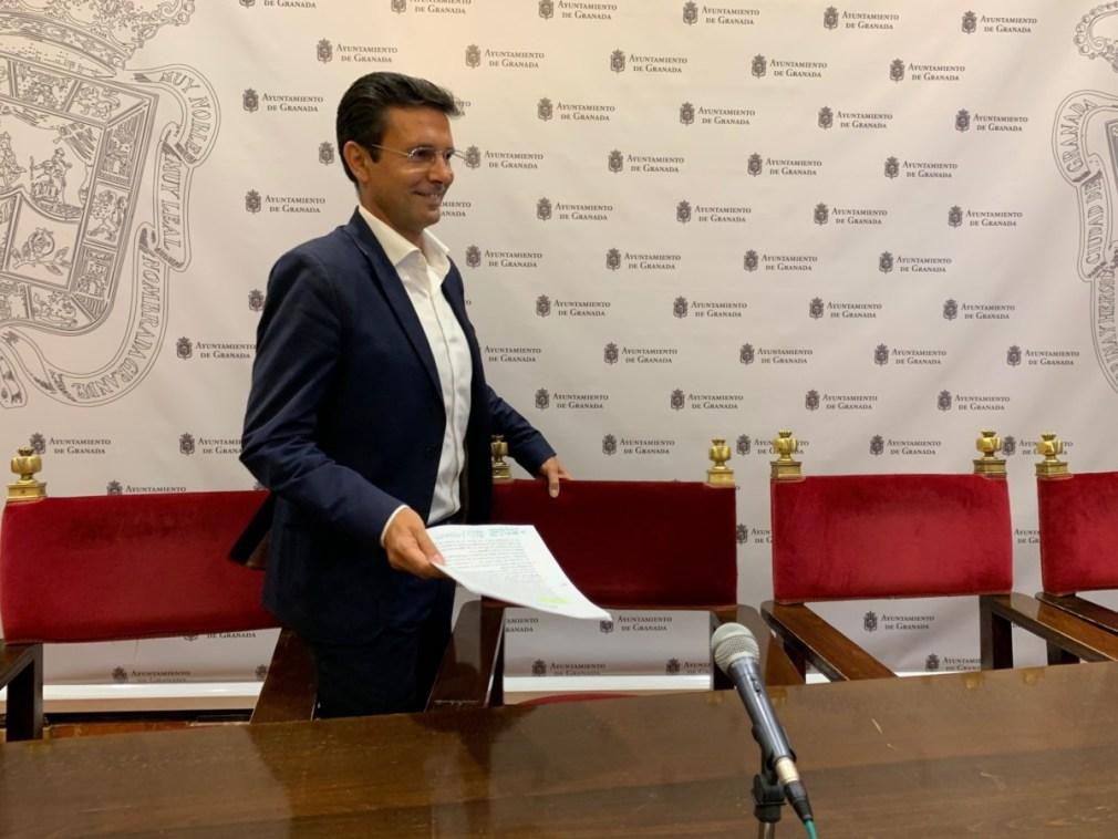 """Granada.- El PSOE promoverá un 'pacto social' ante la """"parálisis"""" del Ayuntamiento de Granada"""