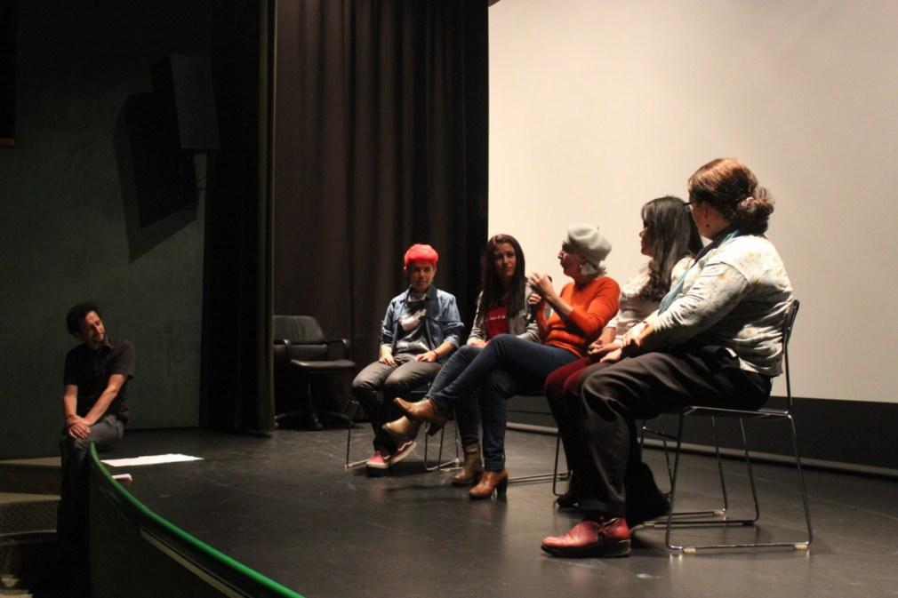 Protagonistas-del-cortometraje-La-corrala-de-la-empatia-durante-el-Festival-EDITA