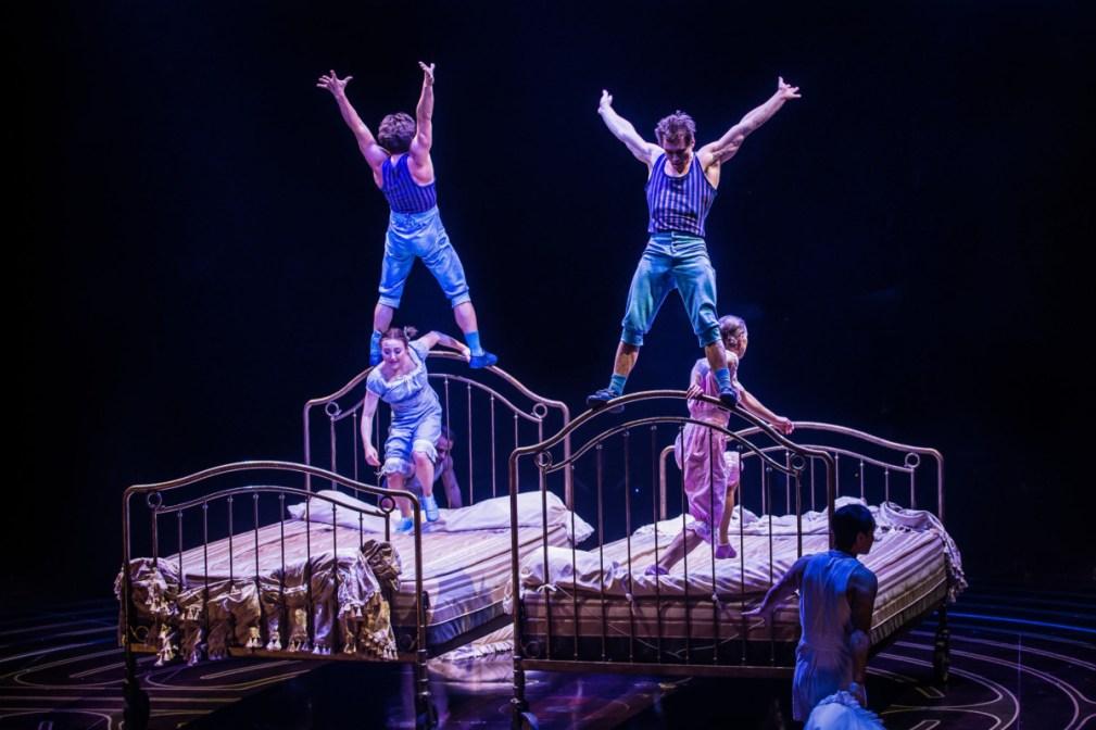 Teeterboard Costumes Dominique Lemieux 2018 Cirque du Soleil Photo 4