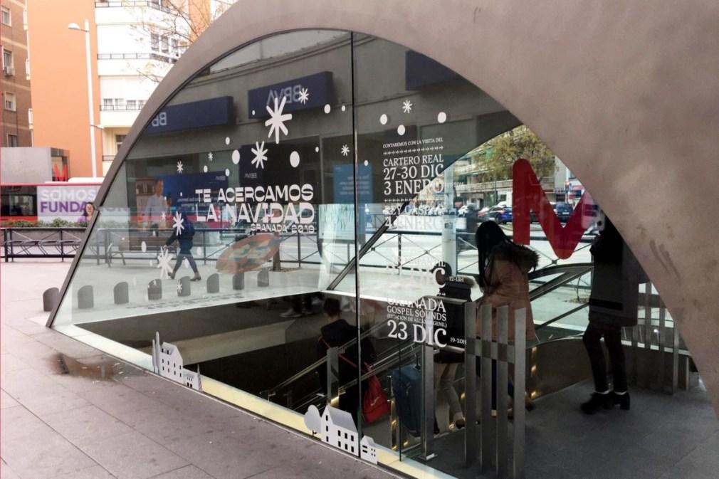 Navidad Metro Granada2