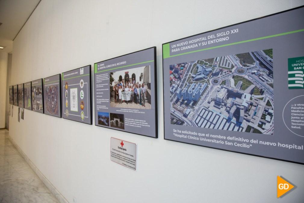 presentación de la campaña 'Clínicocontigo' y visita la exposición-1 (2)