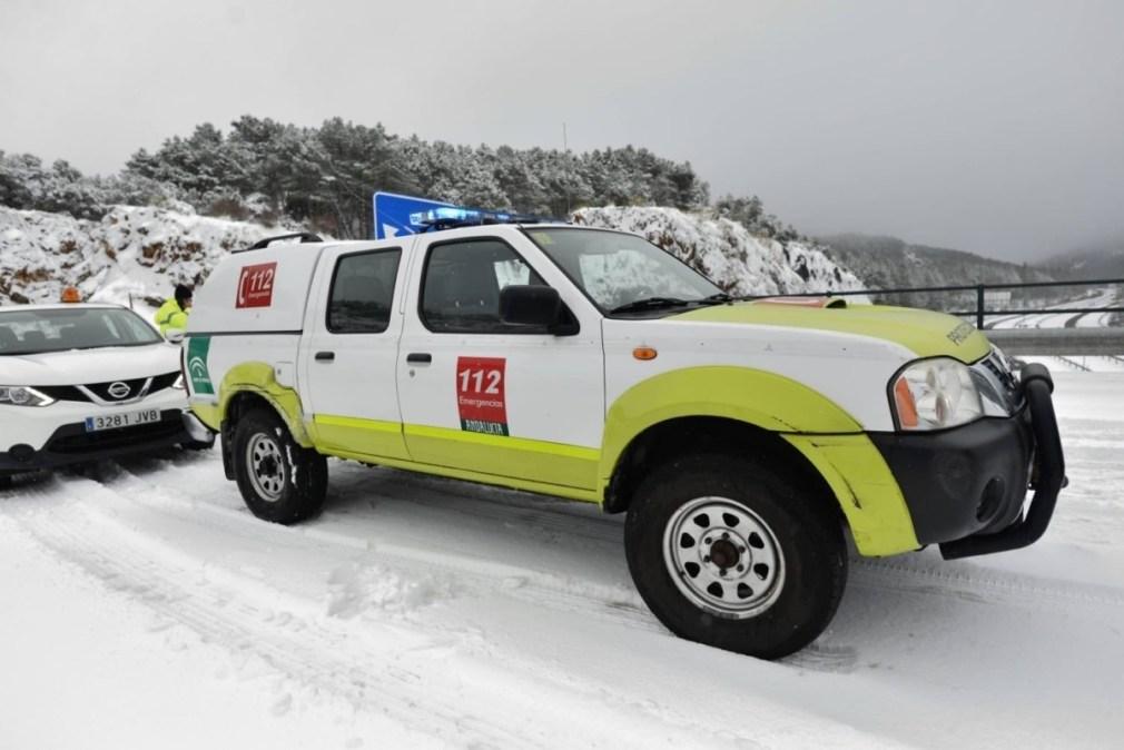 Granada.- Temporal.- Un total de 12 colegios permanecen cerrados en la provincia a causa del temporal
