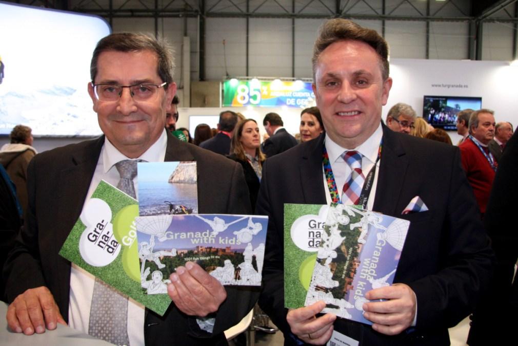 Fitur 2020_Miercoles_Nuevos folletos Patronato Turismo Granada