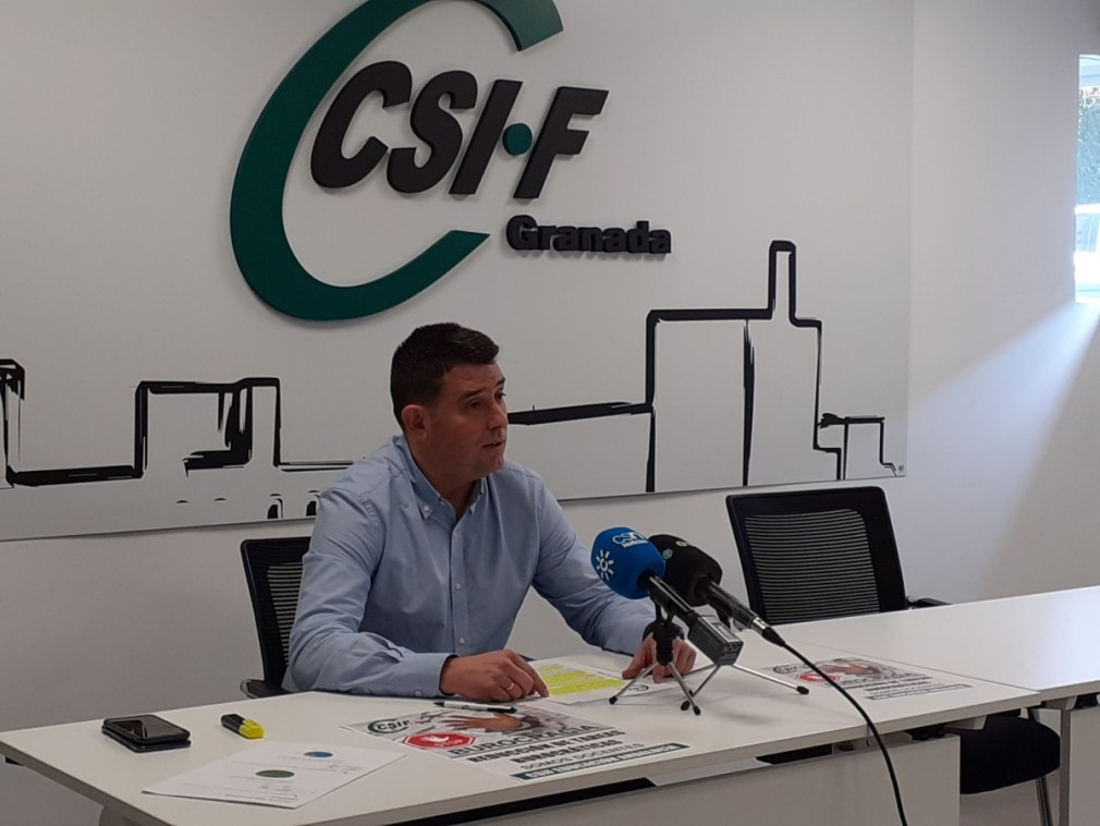 Manuel Pérez, responsable Educación CSIF Granada