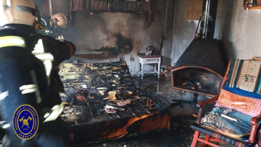 incendio vivienda granada