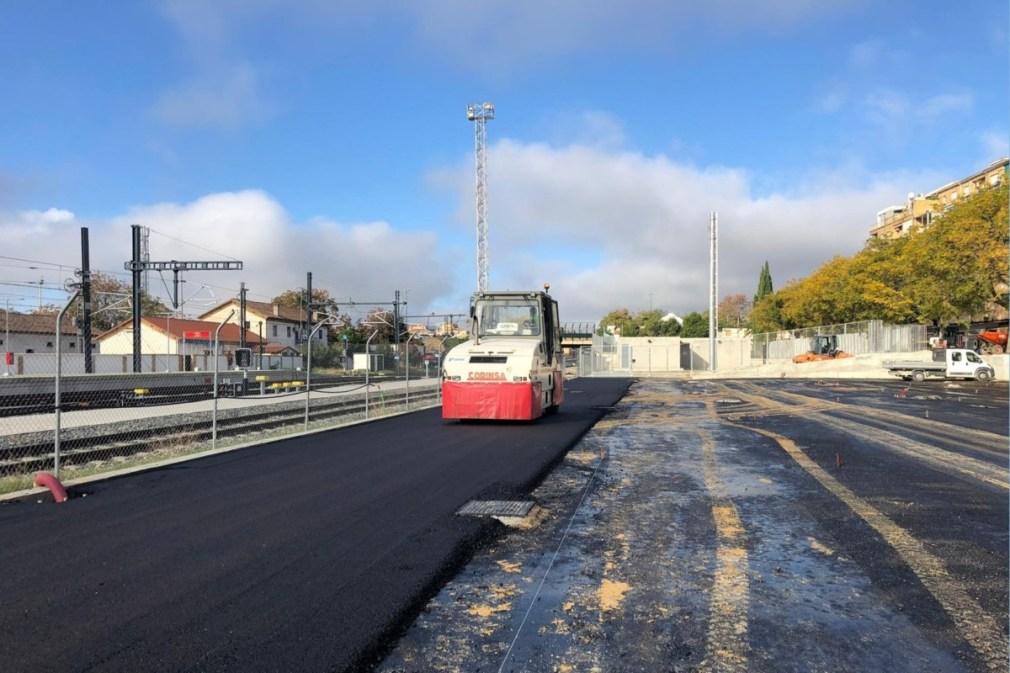 Granada.- El aparcamiento de la estación del AVE de estará acabado antes de fin de año
