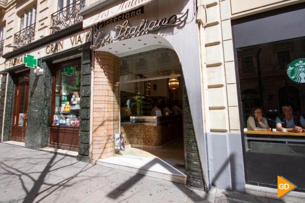 Apertura de la heladería de los italianos en Granada