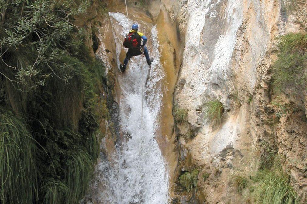 Salto del agua 'Las Chorreras' de Río Verde