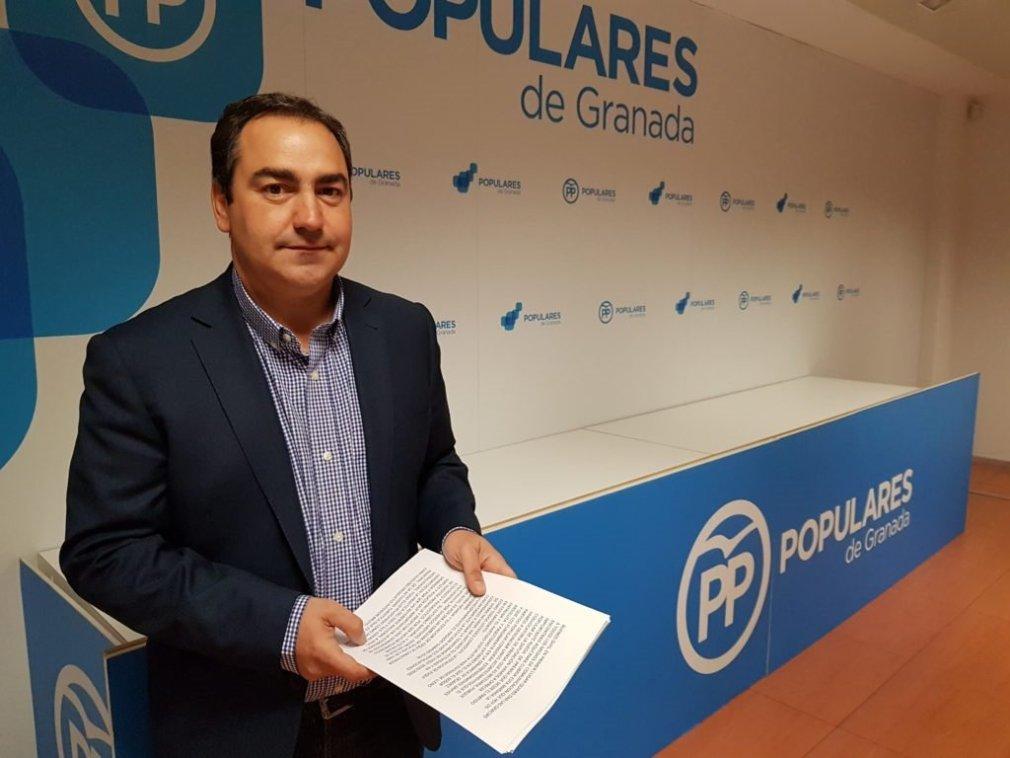 El diputado provincial del PP Eduardo Martos