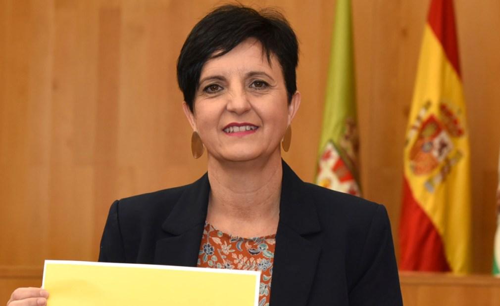 Mercedes Garzón, diputada provincial de Igualdad, Juventud y Administración Electrónica