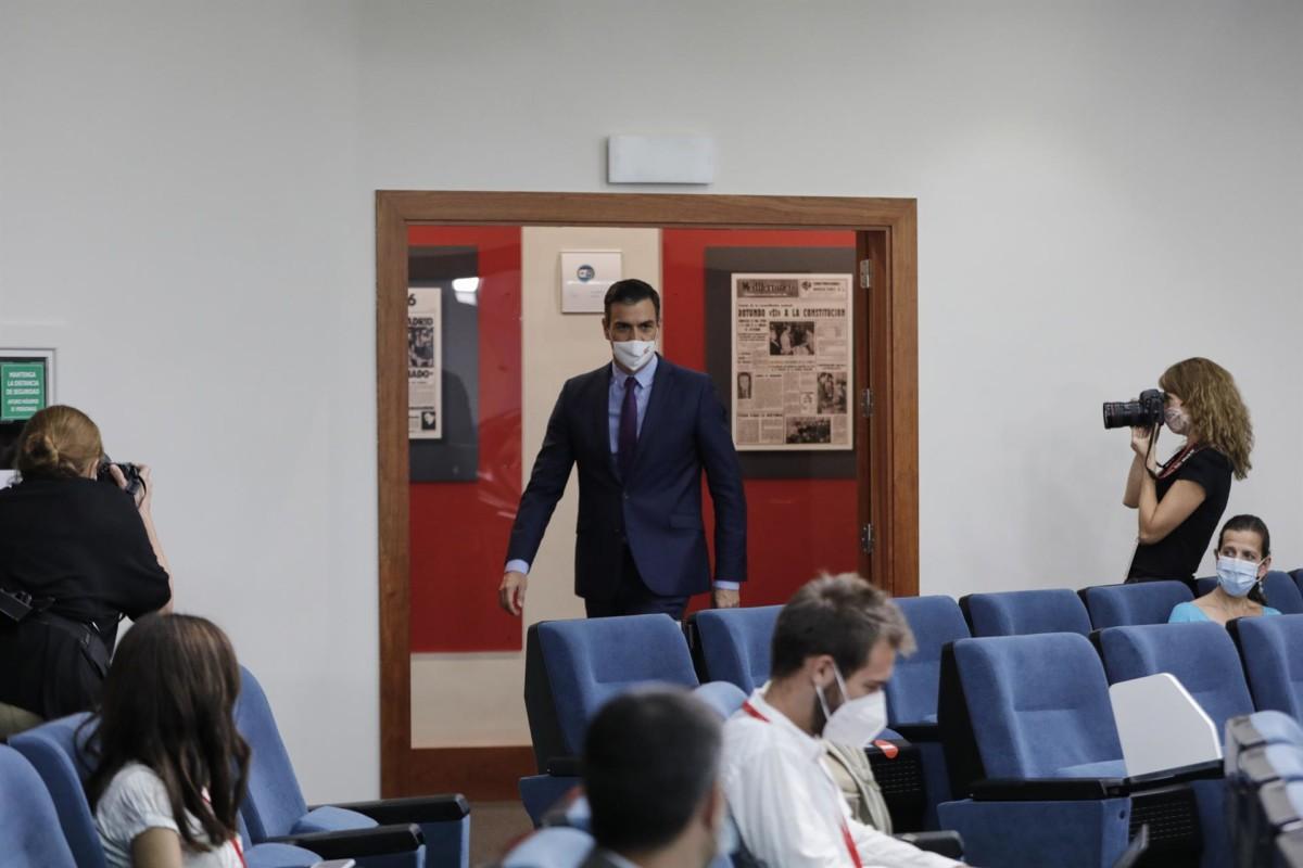 Pedro Sánchez, Moncloa, en Madrid 4 de agosto de 2020 – Jesús Hellín – Europa Press