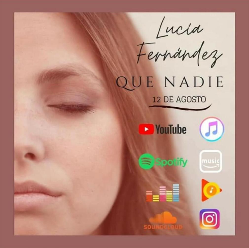 Disco portada Lucía Fernández