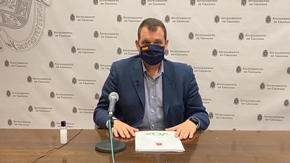 """Granada.- Vox ofrece su apoyo al equipo de gobierno para """"unas cuentas municipales de derechas"""""""
