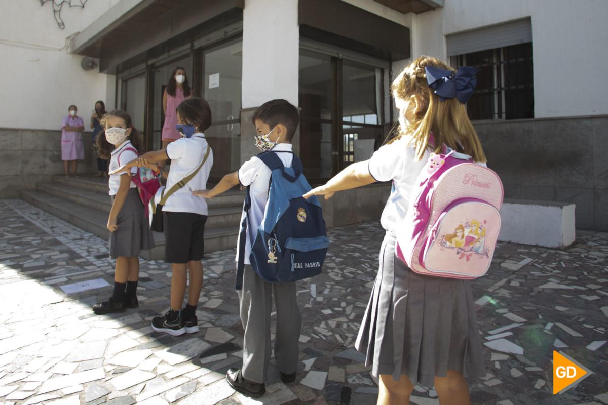 Colegio San Isidoro en la vuelta al cole tras el estado de alarma por coronavirus