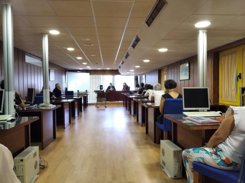 Granada.- Educación.- El centro Concepción Arenal, con alumnos de la cárcel de Albolote, empieza curso con más recursos