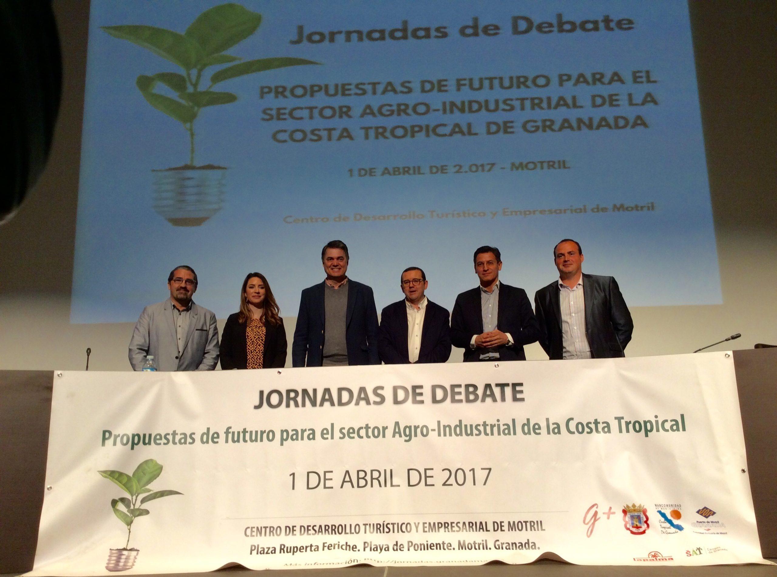 jornadas debaten sobre propuestas de futuro para el sector agro-industrial de la Costa Tropical