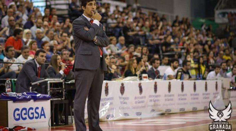 """Pablo Pin, entrenador de Fundación CB Granada: """"El inicio de liga es duro"""""""