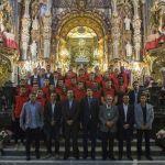 El Granada CF realiza su tradicional ofrenda a la patrona