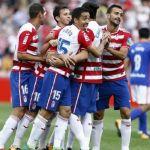 El Granada CF supera al Real Oviedo en el Estadio Los Cármenes