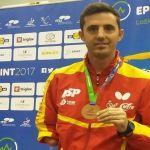 El palista paralímpico José Manuel Ruiz consigue un nuevo metal