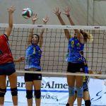 El CDU Granada no termina de arrancar en la Superliga 2 femenina de voleibol
